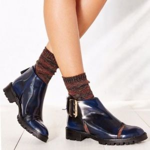 """Jeffrey Campbell """"Great Moments"""" Flamel booties"""